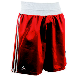 adidas Amateur Boxing Short Rood/Wit