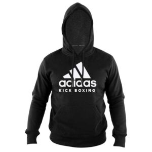 adidas Hoodie Kickboxing Community Zwart/Wit