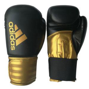 adidas Hybrid 100 (Kick)Bokshandschoenen Zwart/Goud