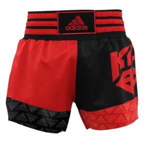 adidas Kickboksshort SKB02 Shock Red/Zwart
