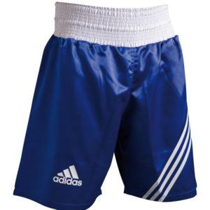"adidas ""Multi"" Boxing Short blauw/wit"