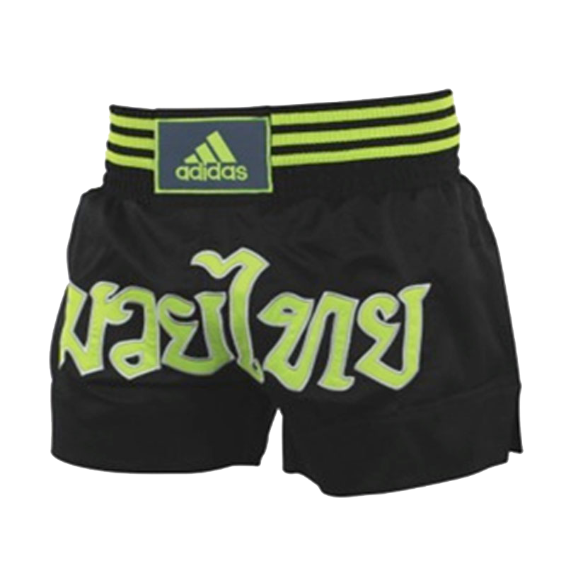 adidas Kickboksshort STH02 ZwartGeel