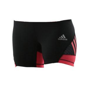 adidas Speed line Train short tight Women Shock Red / Zwart