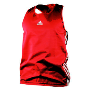 adidas Amateur Boxing Tank Lightweight Rood/Wit