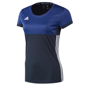 adidas T16 Clima Tee Women Blauw