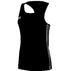 adidas T16 Sleeveless T-shirt Women Zwart