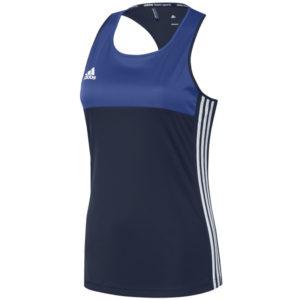 adidas T16 Sleeveless T-shirt Women Blauw
