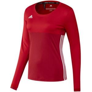 adidas T16 ClimaCool Long Sleeve Tee Women Rood
